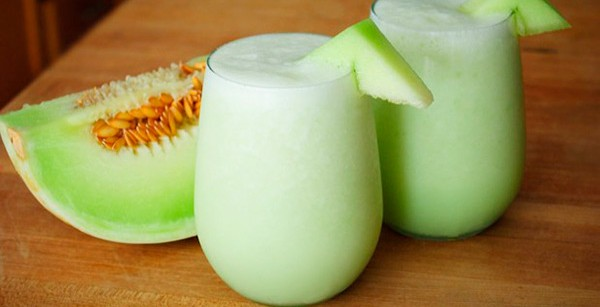 Batido de melón y limón