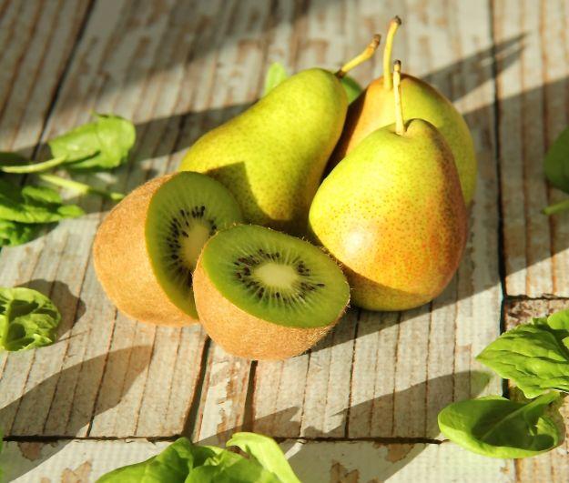 Batido de pera y kiwi