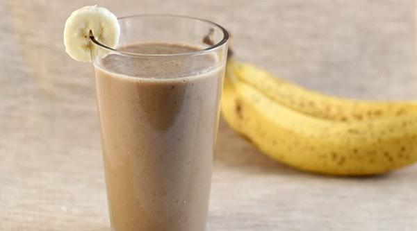 Batido de café y plátano