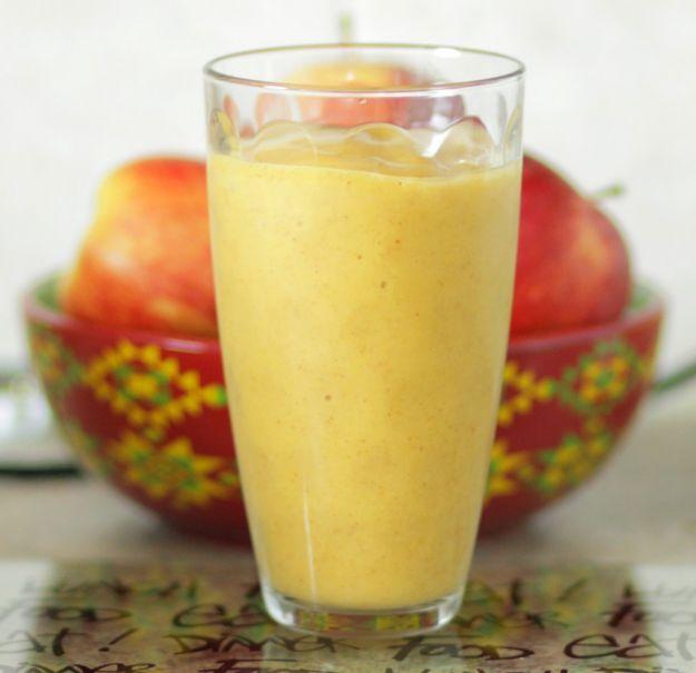 Batido de mango y manzana