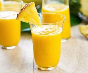 Batido de mango y piña