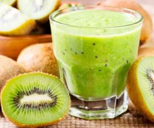 Batido de kiwi y pera