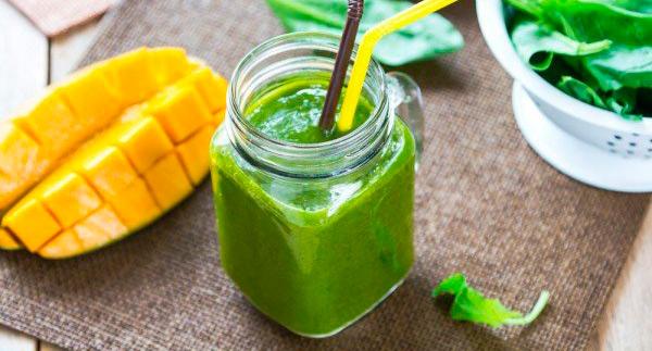 Batido de verduras y frutas