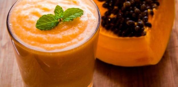 Jugo de papaya y naranja para adelgazar