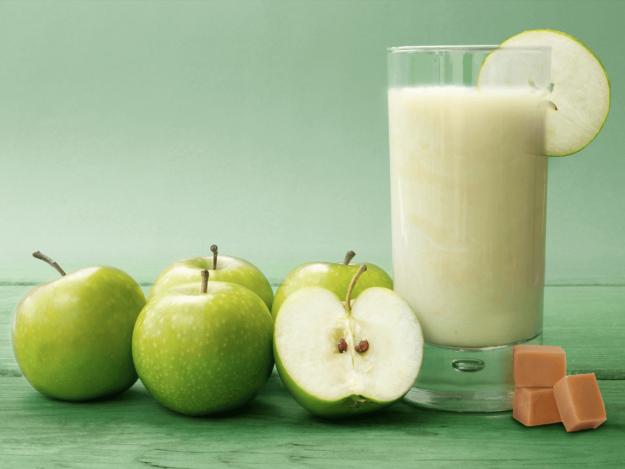 Batido verde de manzana