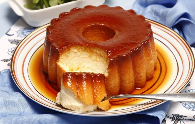 Flan de yogur natural